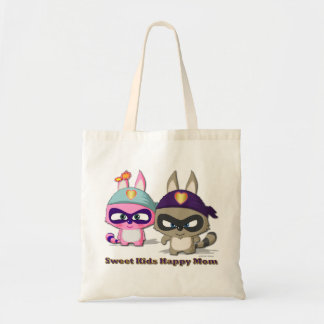 Mother's Day Gift Cute Cartoon Funny Shopping Bag