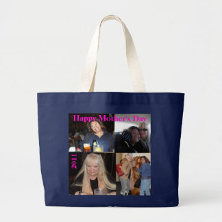 "Mother's Day Gift TOTE ""4 Photo Collage"""