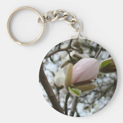 Mothers Day Gifts 19 KEDS SHOES Magnolia Flowers Key Chain