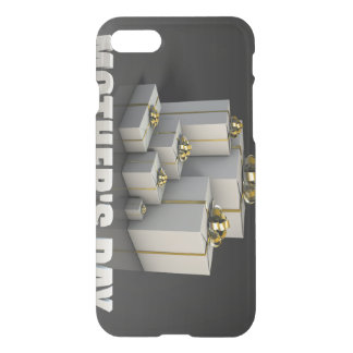 Mother's Day Gifts With Elegant Gold Ribbons iPhone 7 Case