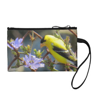 Mother's Day Goldfinch Coin Purse