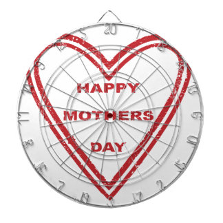 Mothers Day Heart Dart Boards