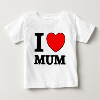 Mothers Day I Love Mum Baby T-Shirt