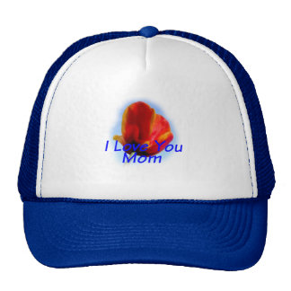 Mother's Day I Love You Mom Hat