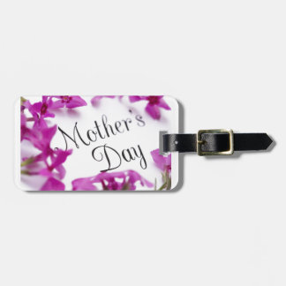 Mothers Day, Iris Luggage Tag