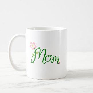 Mother's Day Mom Flowers Vines Mug