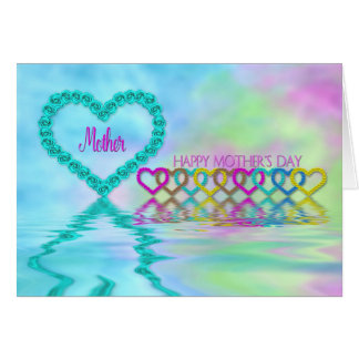 Mother's Day Mom - Mother -  Hearts and Roses Card