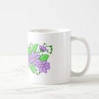 Mothers day Mom Mug coffee cup purple flower