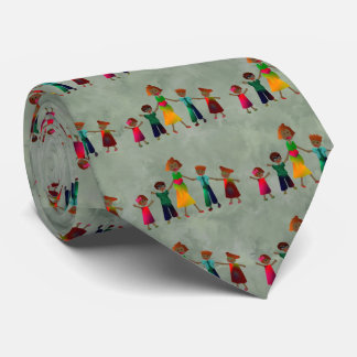 Mother's Day Mom With Boys Girls Tie