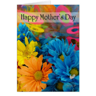 Mother's Day (Multi-Colour) Card