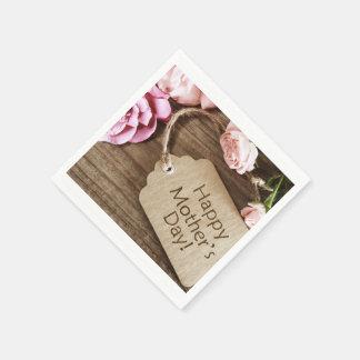 Mother's Day Napkins Disposable Serviette