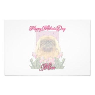 Mothers Day - Pekingese - Pebbles Customized Stationery