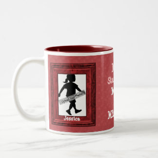 Mother's Day Photo Mug Red