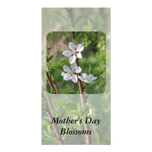Mother's Day Customized Photo Card