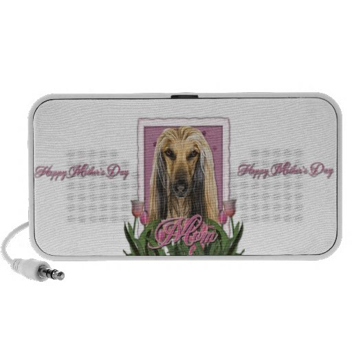 Mothers Day - Pink Tulips - Afghan Mp3 Speakers