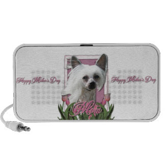 Mothers Day - Pink Tulips - Crestie - Kahlo Notebook Speakers