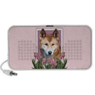 Mothers Day - Pink Tulips - Dingo Travel Speakers