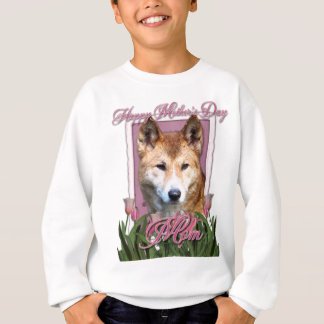 Mothers Day - Pink Tulips - Dingo Sweatshirt