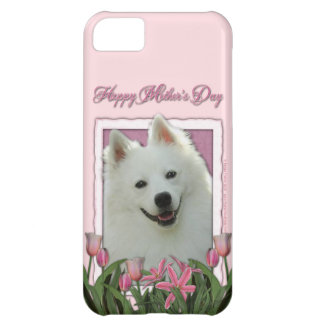 Mothers Day - Pink Tulips - German Shepherd iPhone 5C Cover