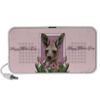 Mothers Day - Pink Tulips - Kangaroo Speaker System