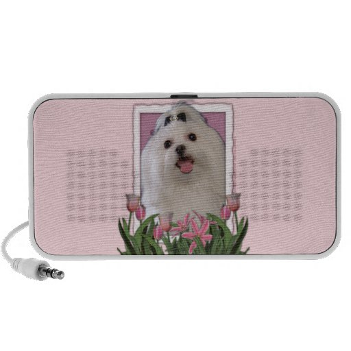 Mothers Day - Pink Tulips - Maltese Travelling Speakers