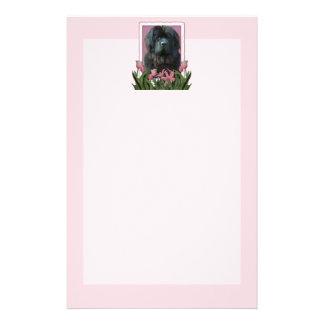 Mothers Day - Pink Tulips - Newfoundland Custom Stationery