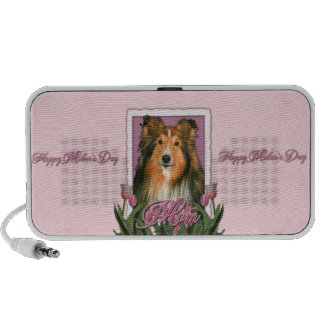 Mothers Day - Pink Tulips - Sheltie Travelling Speakers