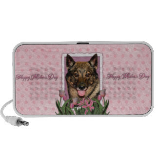 Mothers Day - Pink Tulips - Vallhund Travel Speakers