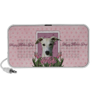 Mothers Day - Pink Tulips - Whippet Mini Speakers