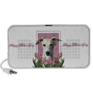 Mothers Day - Pink Tulips - Whippet Mini Speaker