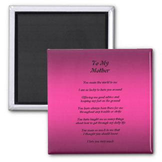 Mother's Day Poem Magnet