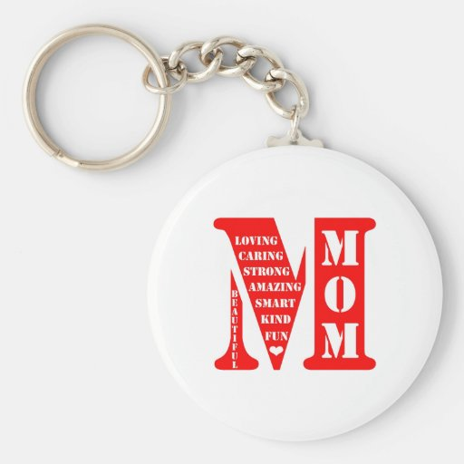 Mother's Day Present Key Chains