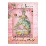 Mother's Day Queen party 13 Cm X 18 Cm Invitation Card