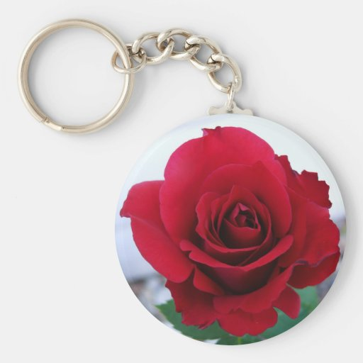 Mother's Day Red Rose Key Chain