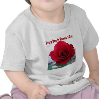 Mother's Day Red Rose T Shirts