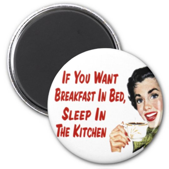 Mother's Day Retro 1950 Housewife Magnet