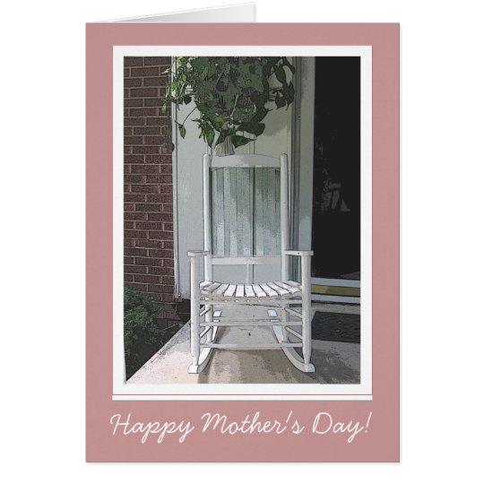 Mother's Day Rocker Card