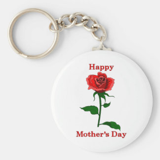 Mother's Day Rose Keychain