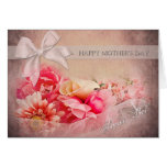 Mother's Day -  Secret Pal - Pink Flowers Greeting Cards