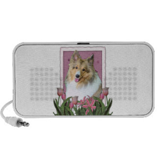 Mothers Day - Sheltie - Mandy Travelling Speakers