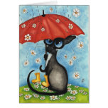 Mothers Day Siamese by BiHrLe Card