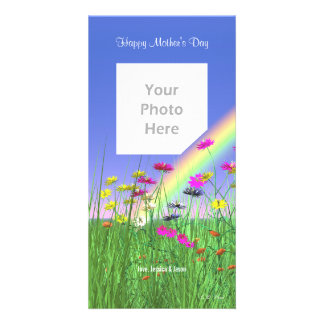 Mother's Day Spring Photo Card