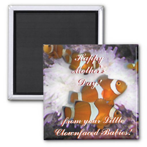 Mother's Day Square Magnet