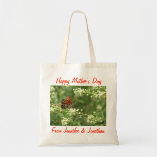 Mother's Day Tote Bag, Butterfly Budget Tote Bag
