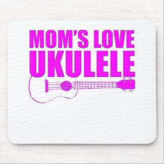 mother's day ukulele mouse pad
