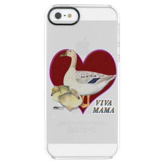 Mother's Day:  Viva Mama! Clear iPhone SE/5/5s Case