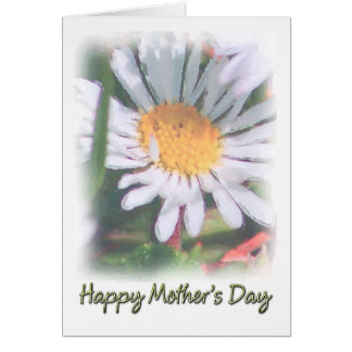 Mother's Day - Watercolour Daisy Card