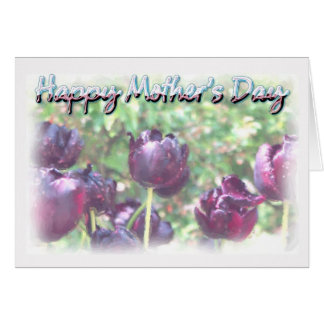 Mother's Day - Watercolour Tulips Card