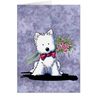 Mother's Day Westie Card