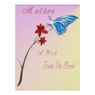Mothers Day Wish Poster